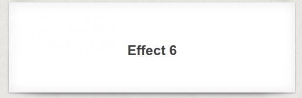 CSS Box Shadow Effect 6
