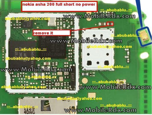 Nokia 201 Full Short Dead Solution