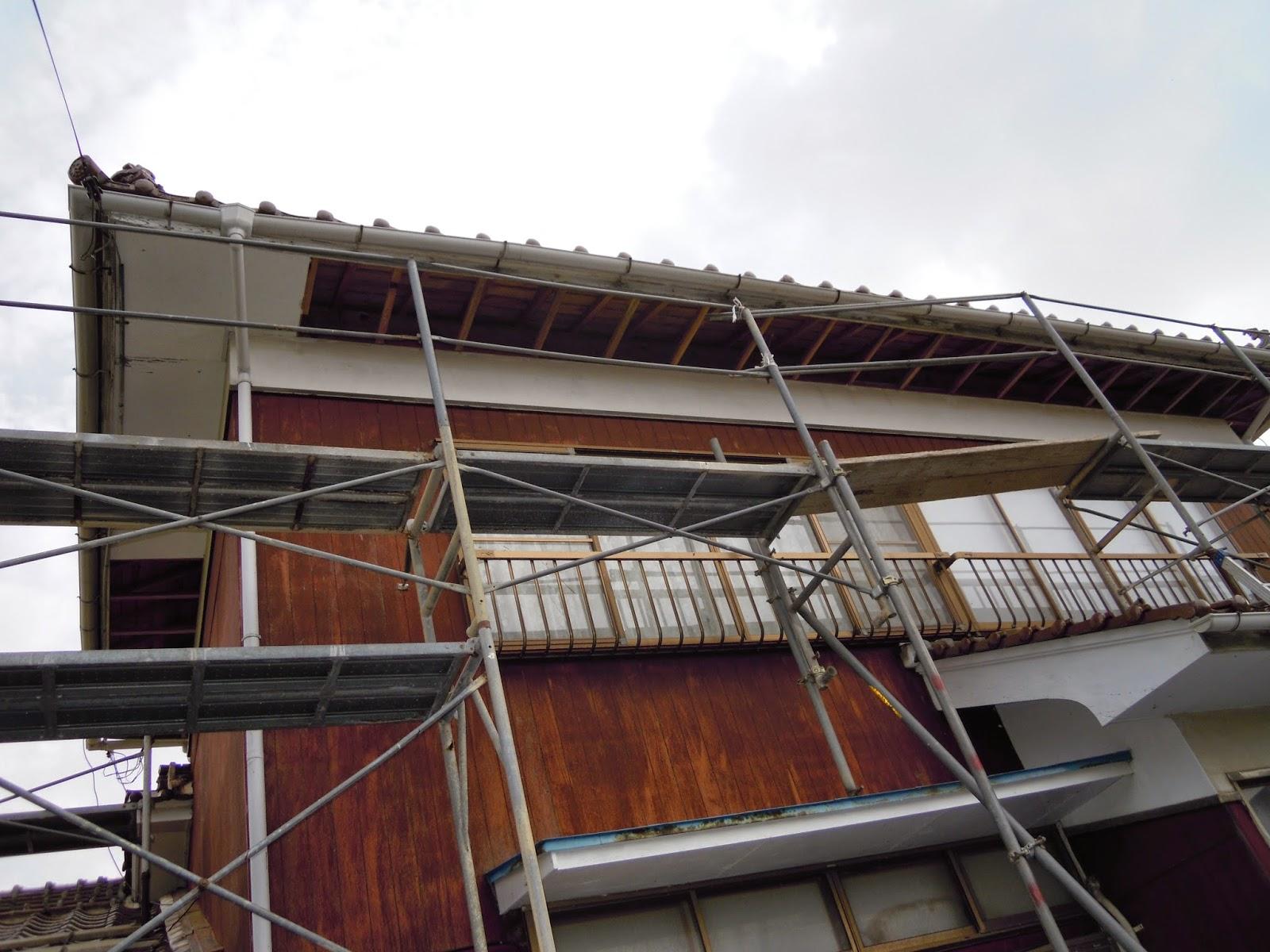 軒天 工事 島根県 浜松建設株式会社