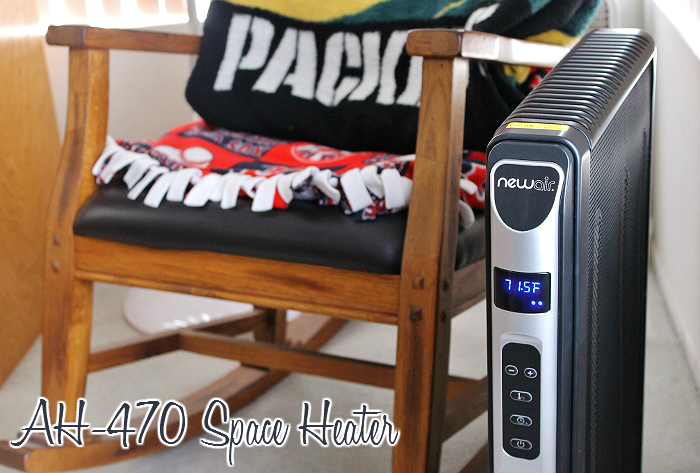 NewAir AH-470 Space Heater for holiday season comfort. #sp