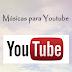 Músicas para vídeos no youtube