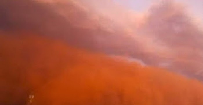 8 Fenomena Dahsyat Badai Pasir di Dunia