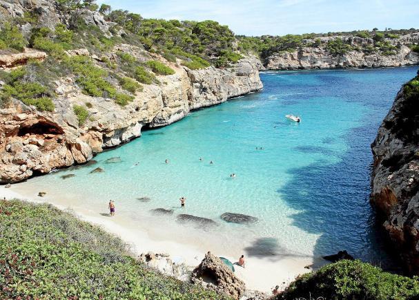 Mallorca vakantie tips: SAmarador mooiste strand Europa