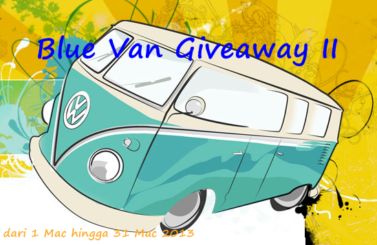Blue Van Giveaway II