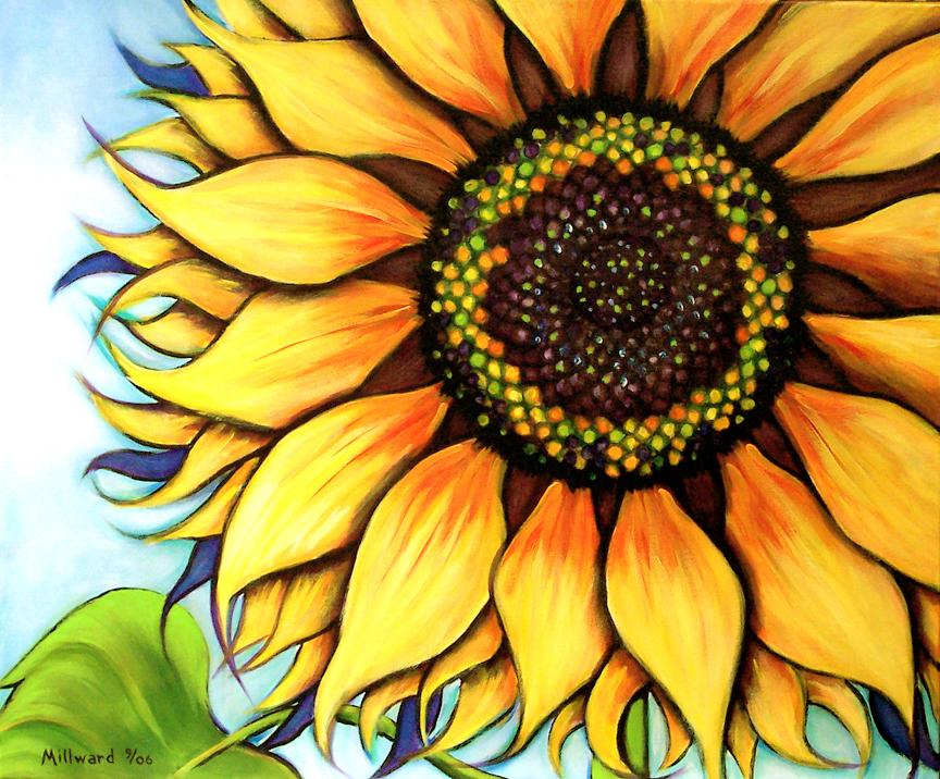 Millward studios for Cool paintings easy