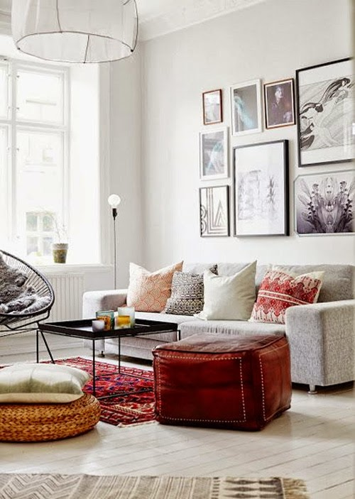 Eclectic Mix Of Pillows : belle maison: Spring Style :: Fresh Accent Pillows