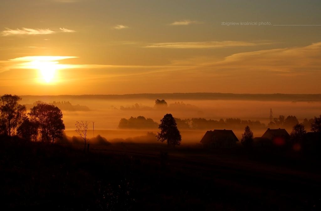 W rytmie natury: Warmia o świcie, poranek pierwszy