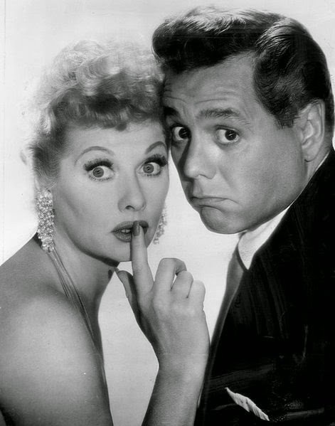 Lucille Ball and Desi Arnis