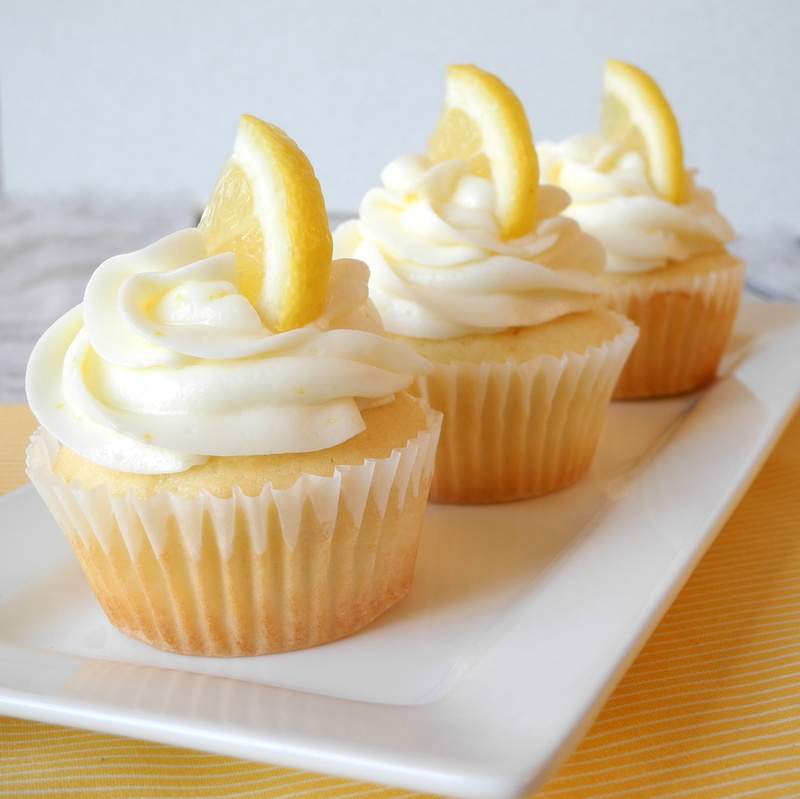 Lemon Salt Lemon Cupcakes Recipes — Dishmaps
