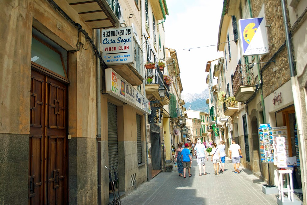 town of soller, mallorca