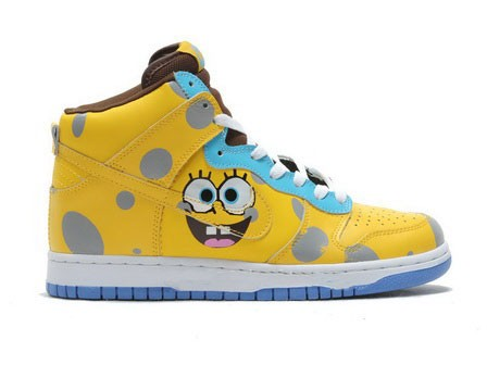 nike spongebob squarepants spongebob nikes