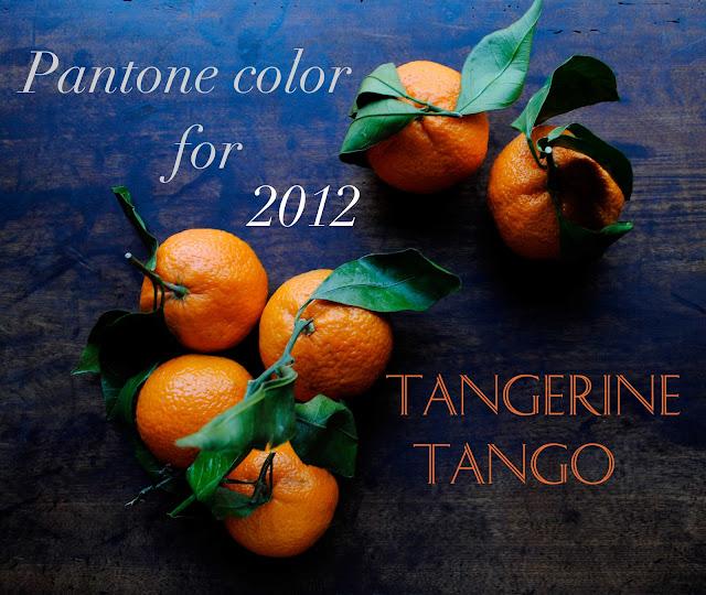 Pantone Color Tangerine Tango