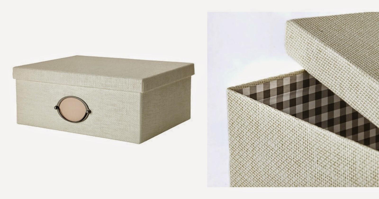 Una scatola per i ricordi - Ikea scatole plastica trasparente ...