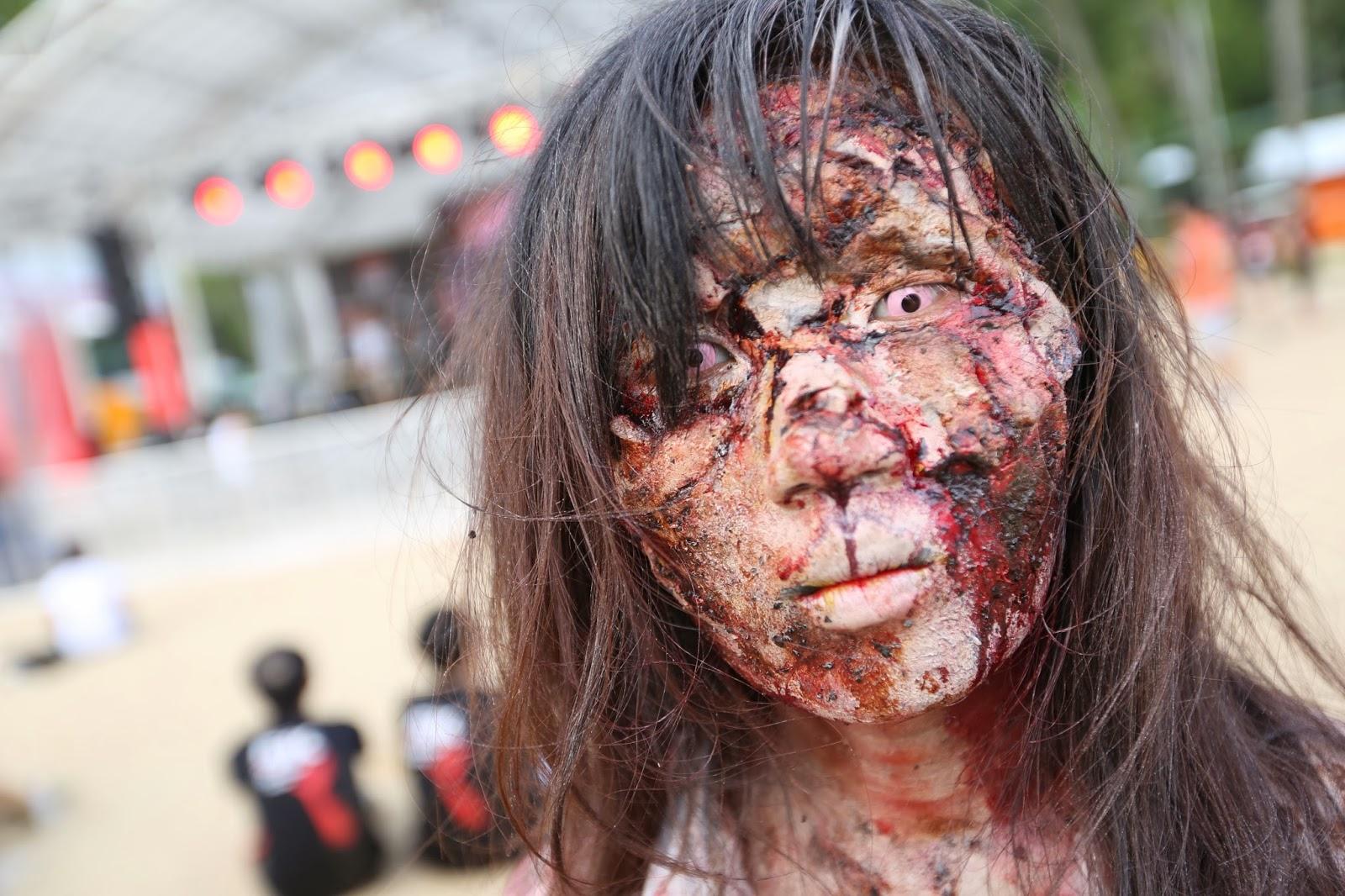 The Noel Boyd Blog The Walking Dead Zombie Pop Up Caf 233