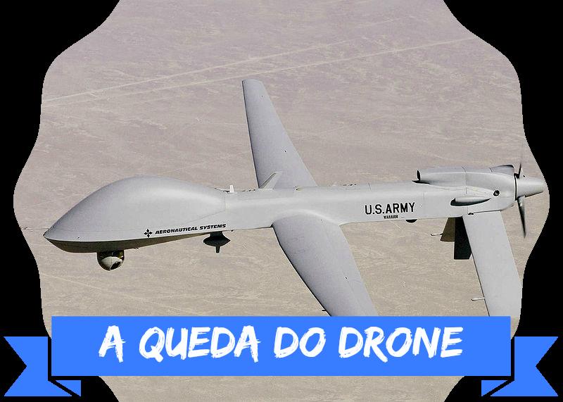 Drone da Marinha Portuguesa cai