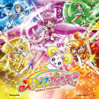 Smile Precure! OP ED Single - Let's Go! Smile Precure!