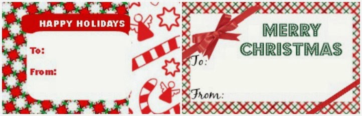 Holiday gift freebies