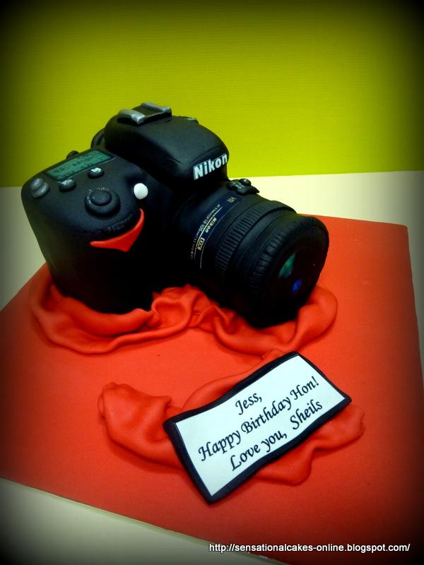 Nikon Camera Cake Images : Birthday Cakes Singapore Wedding Children Longevity ...