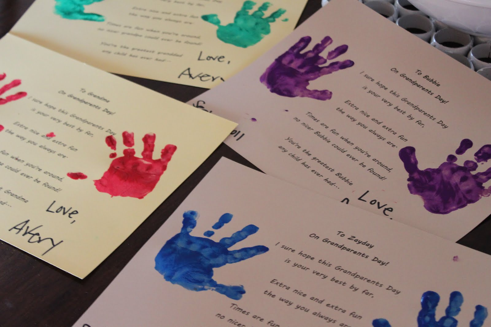 Grandparents day quick and easy gift delicate construction grandparents day quick and easy gift negle Choice Image