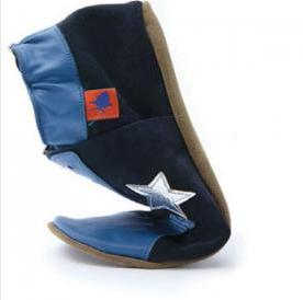 Triggerfish, un chausson pour papa en cuir souple, chic et branché
