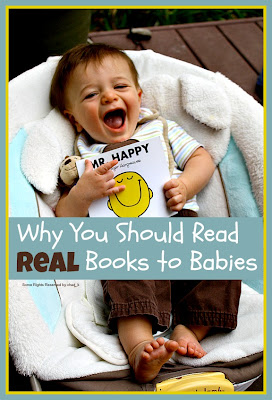 Real books to babies