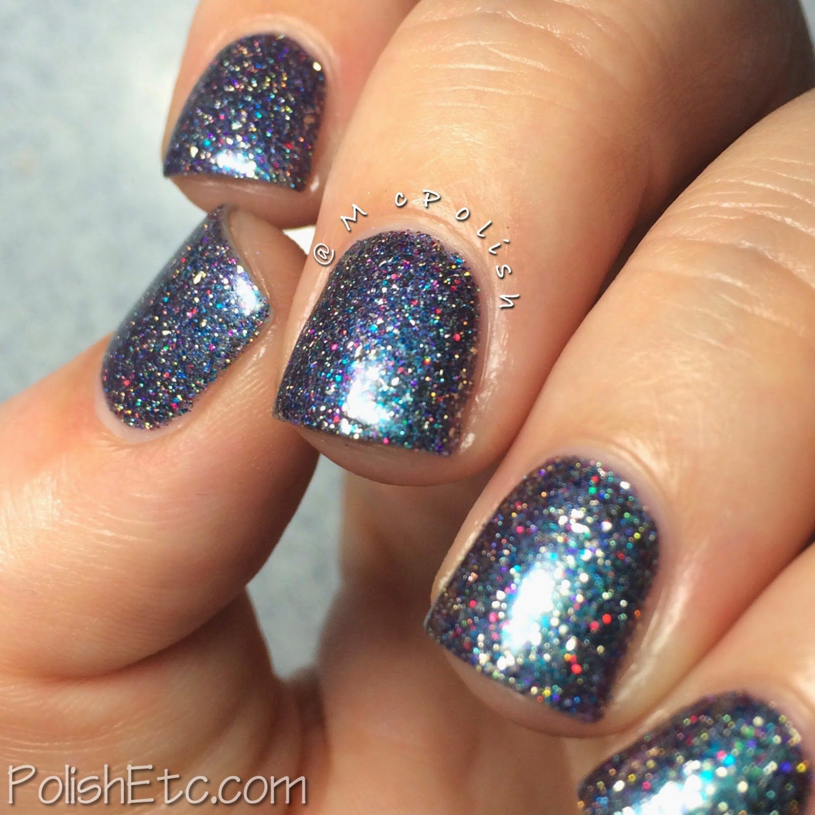 Digital Nails - So Sparkle (swatched by McPolish)