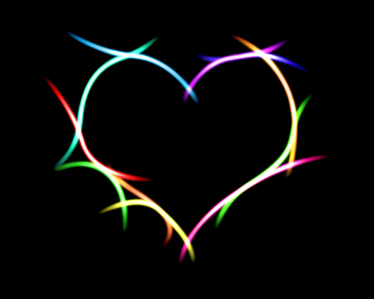 heart desktop wallpape...