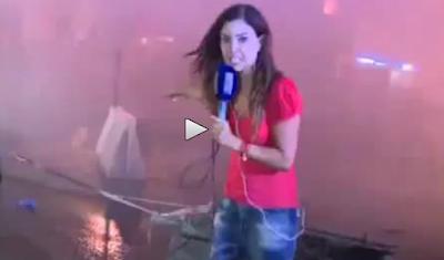 Policía Libanesa carga contra manifestantes y periodistas