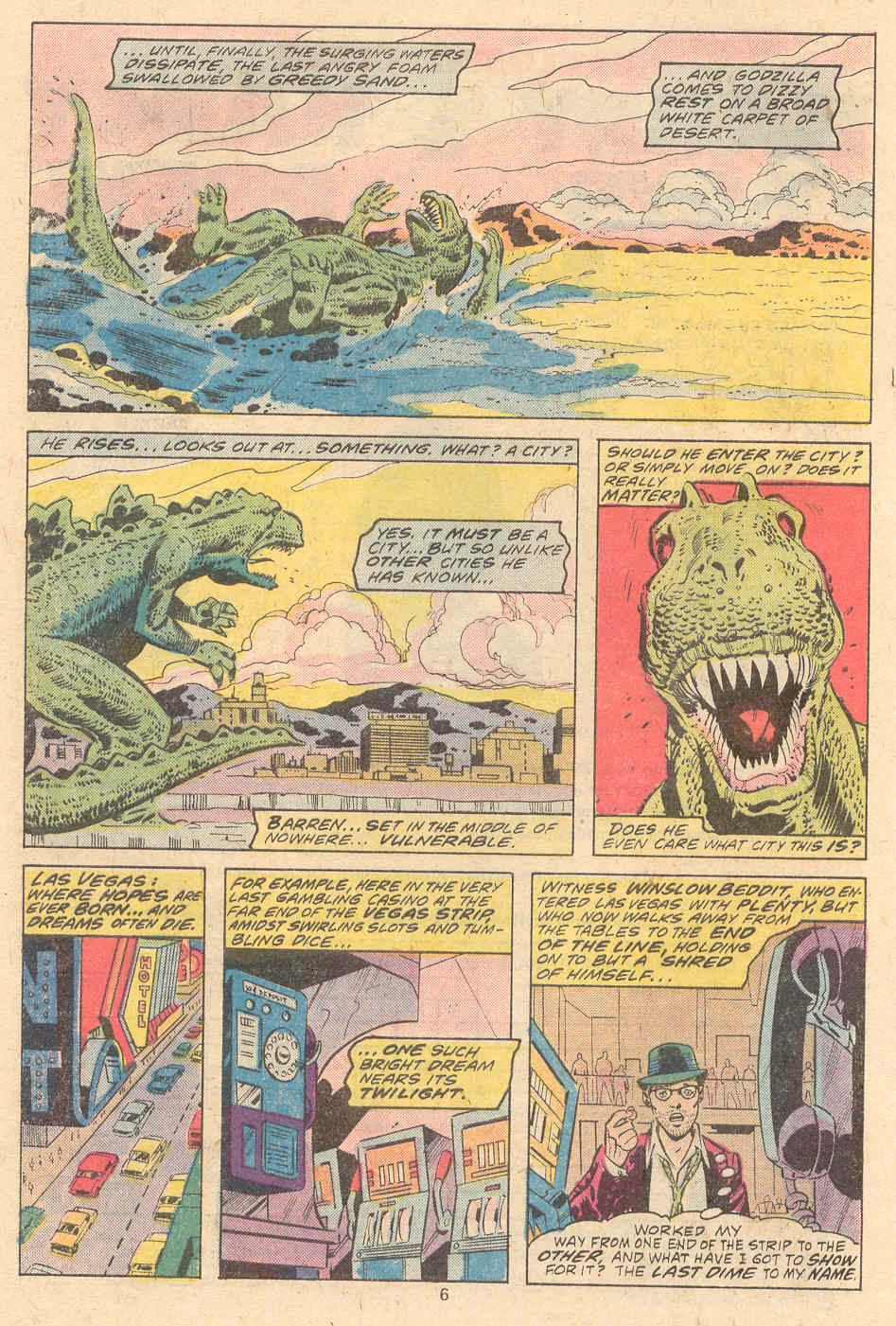 Godzilla (1977) Issue #9 #9 - English 5