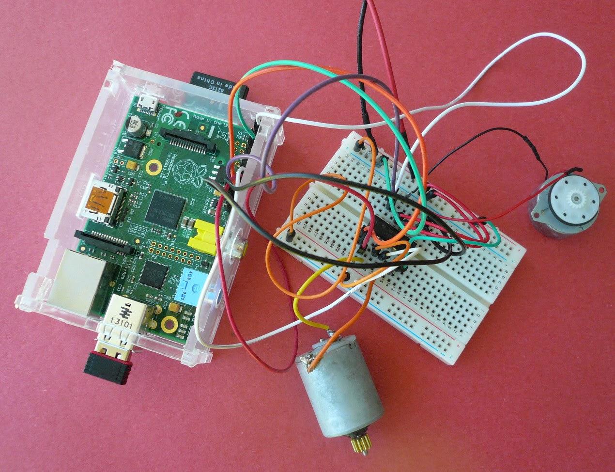 u00c9lectronique en amateur  contr u00f4ler un moteur dc en python avec le raspberry pi