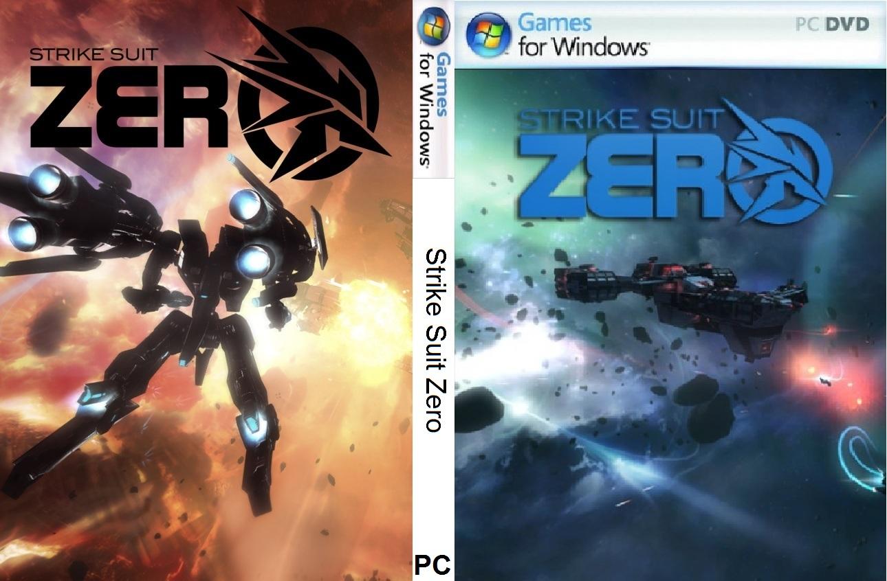 Strike Suit Zero PC DVD Capa