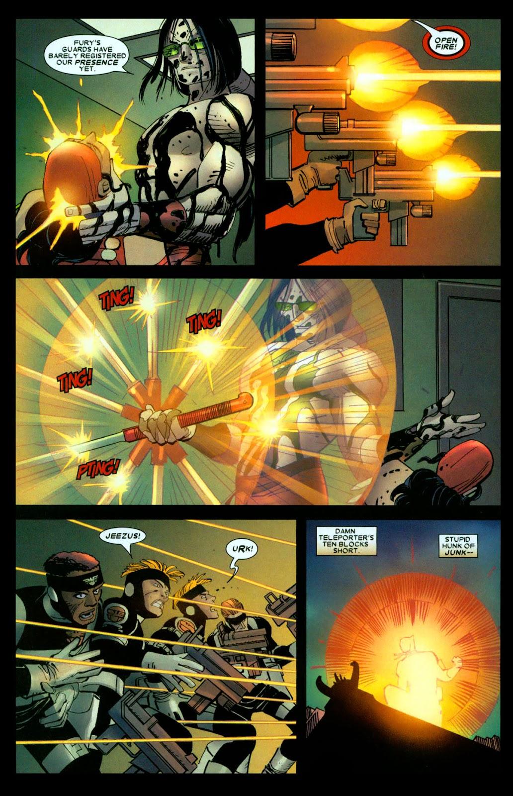 Read online Wolverine (2003) comic -  Issue #31 - 5