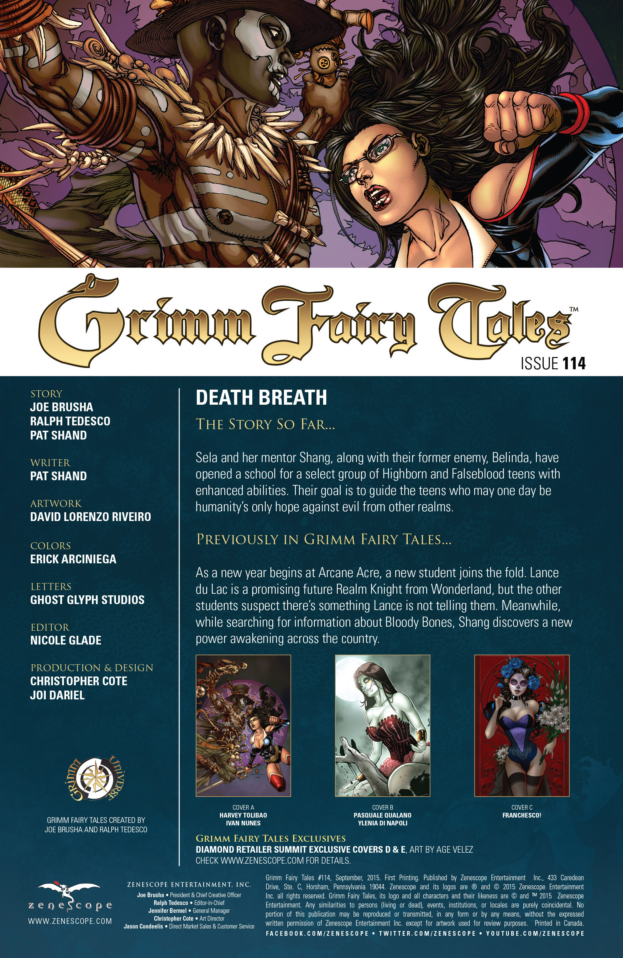 Grimm Fairy Tales (2005) Issue #114 #117 - English 3