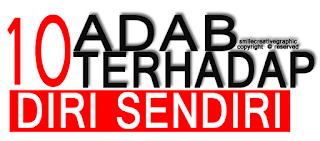 10-ADAB-TERHADAP-DIRI-SENDIRI
