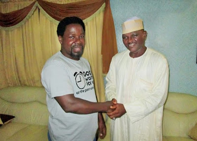 tb joshua and al-mustapha