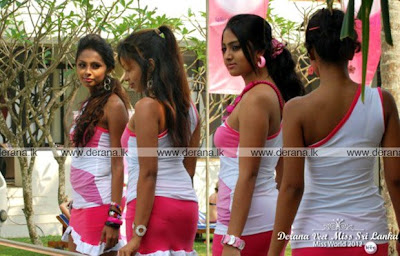 Miss Sri Lanka 2012 Vinu Siriwardane Hot