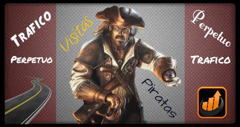 Visitas Gratis con el Sitio de Visitas Piratas