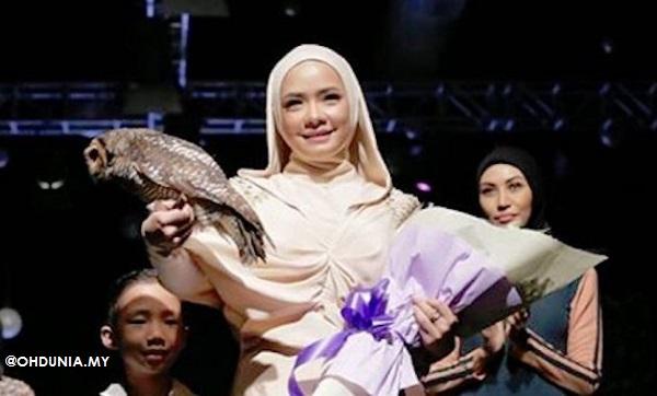 Nora Danish fesyen rahib gereja