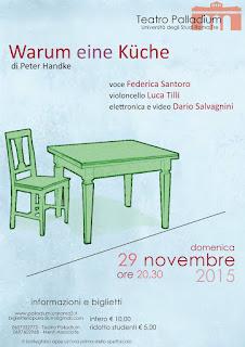 Teatro palladium: in scena warum eine kuche