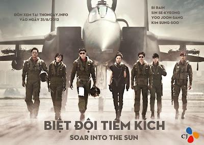 Phim Biệt Đội Tiêm Kích R2B - Sảo Into The Sun 2012 [Vietsub] Online