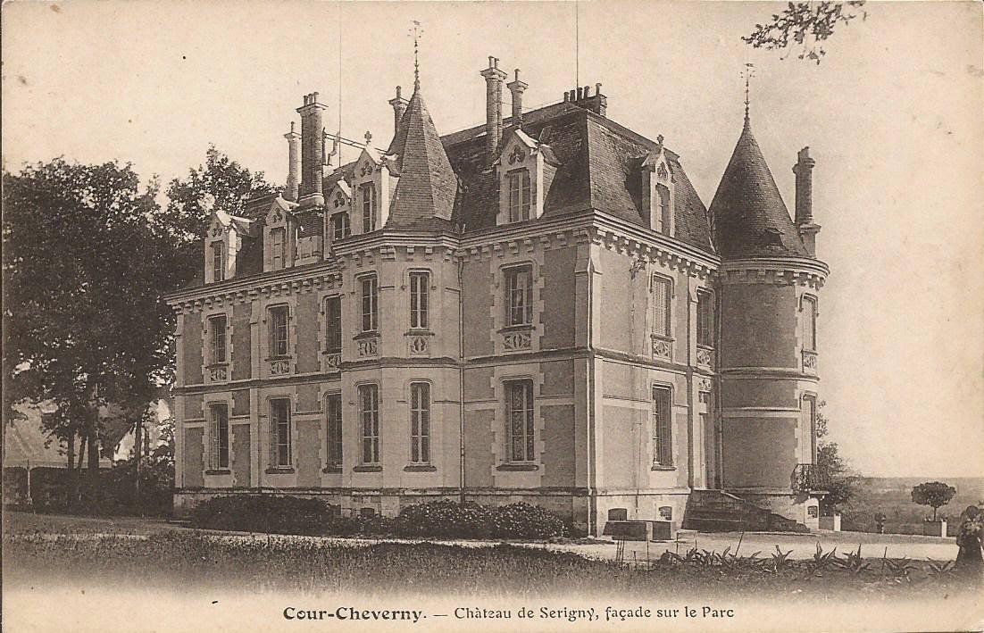 Château de Sérigny - Cour-Cheverny