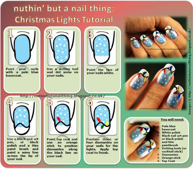 nuthin but a nail thing � winter holiday challenge