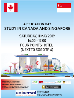 Study in Canada and Singapore