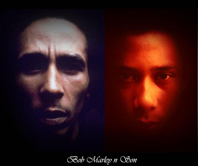 Bob Marley N Son