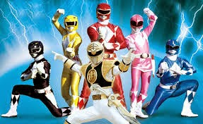 seragam power ranger