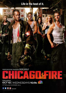 Chicago Fire NBC poster season 1 2012 Download   Chicago Fire S01E15   HDTV + RMVB Legendado