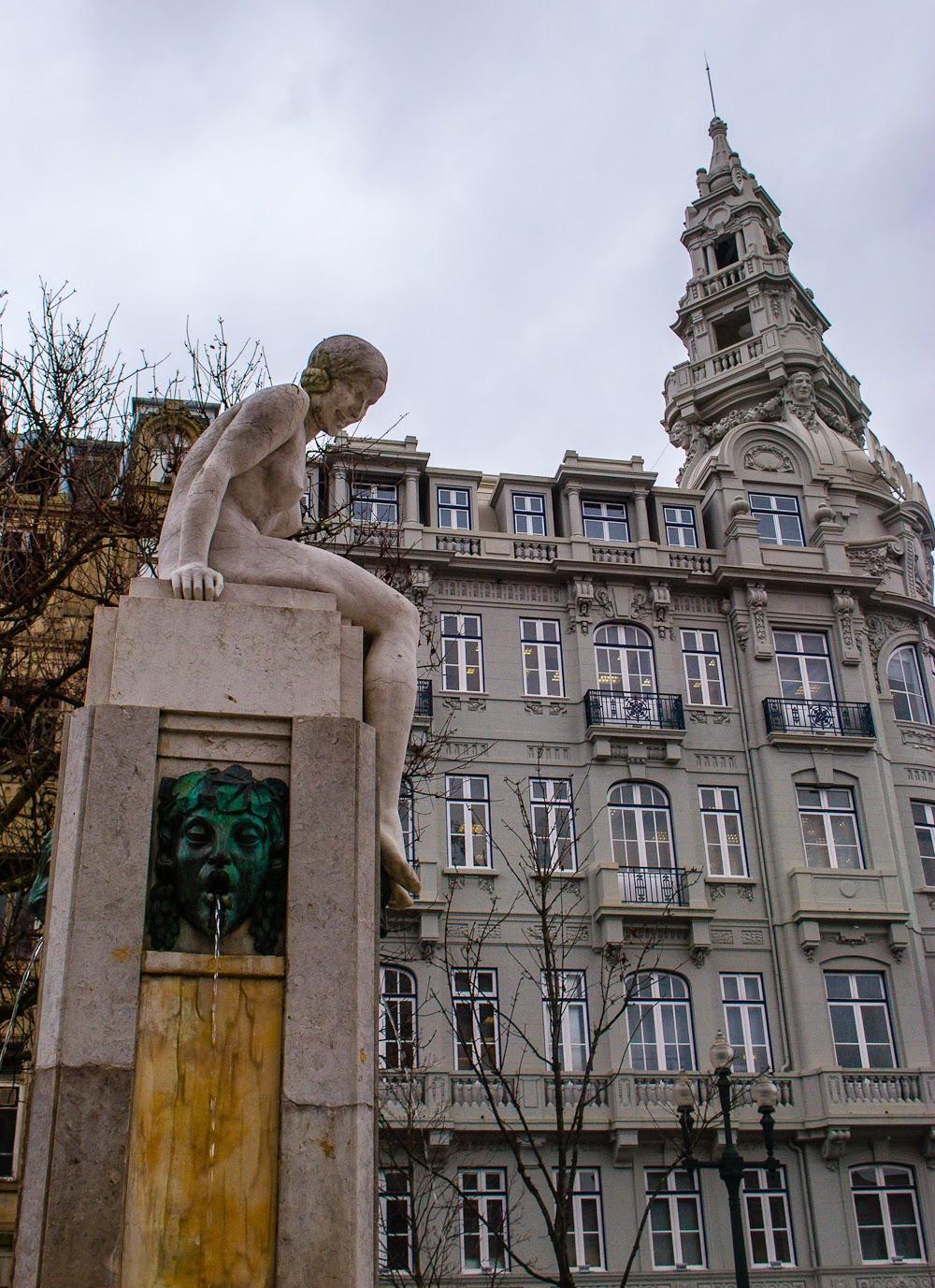 Porto city centre details