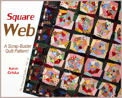 New Quilt Patterns For 2015 : Karen Griska Quilts: New Pattern: Square Web