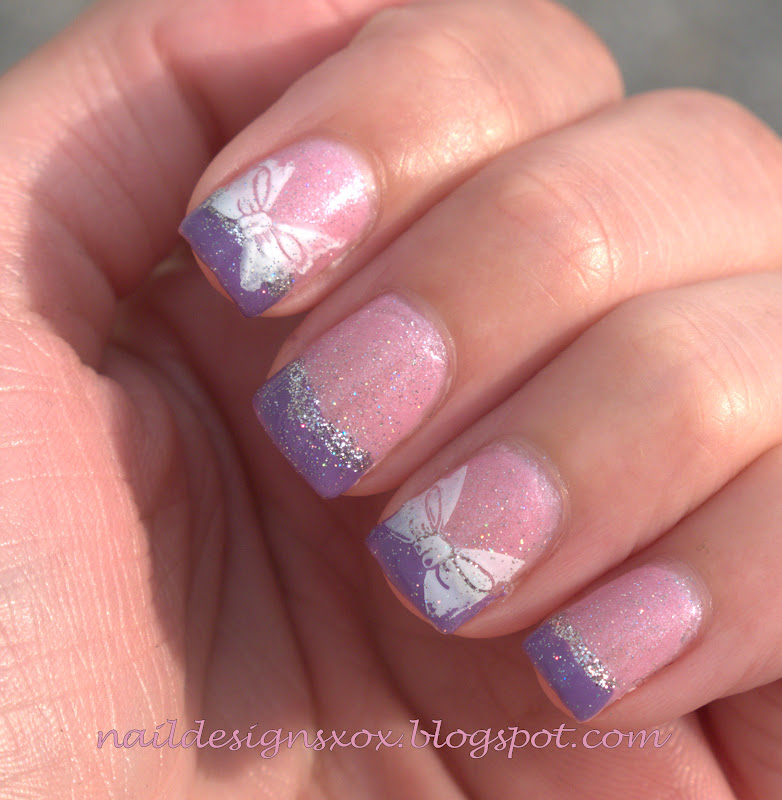Cute Nail Designs For Baby Shower : Nail Designs Zoya Anaka And Baby Shower  Nails