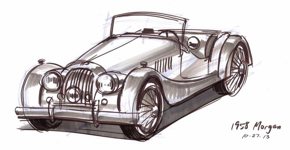 Vivien Wu Car Sketchin